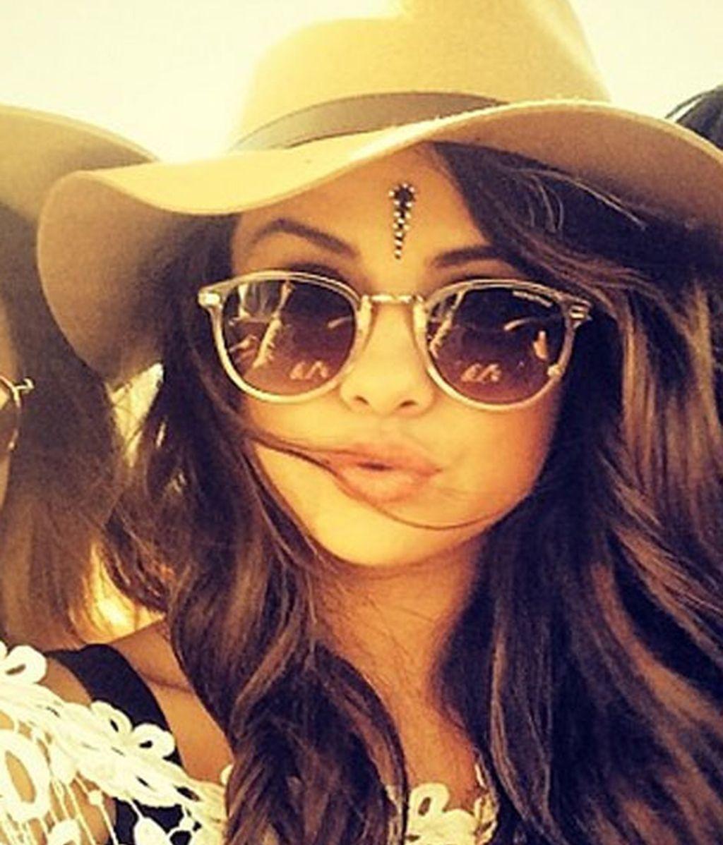 Selena Gomez en una fotografía de Instagram