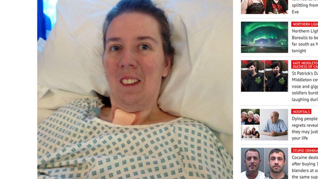 Una mujer escucha a los médicos pedir permiso a su marido para apagar su soporte vital