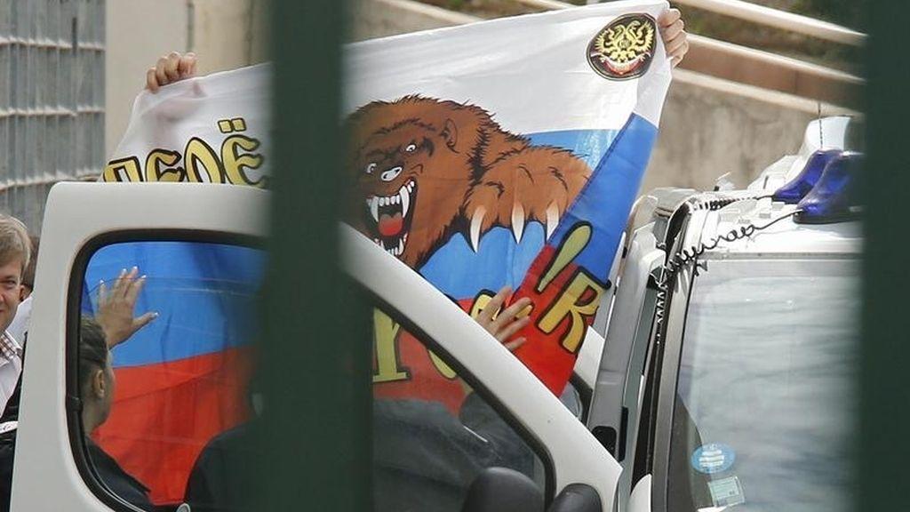 Ultras rusos son detenidos en Marsella durante la Eurocopa