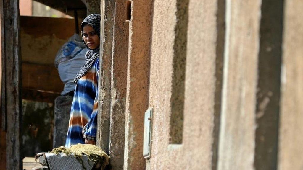 Una mujer en El Cairo