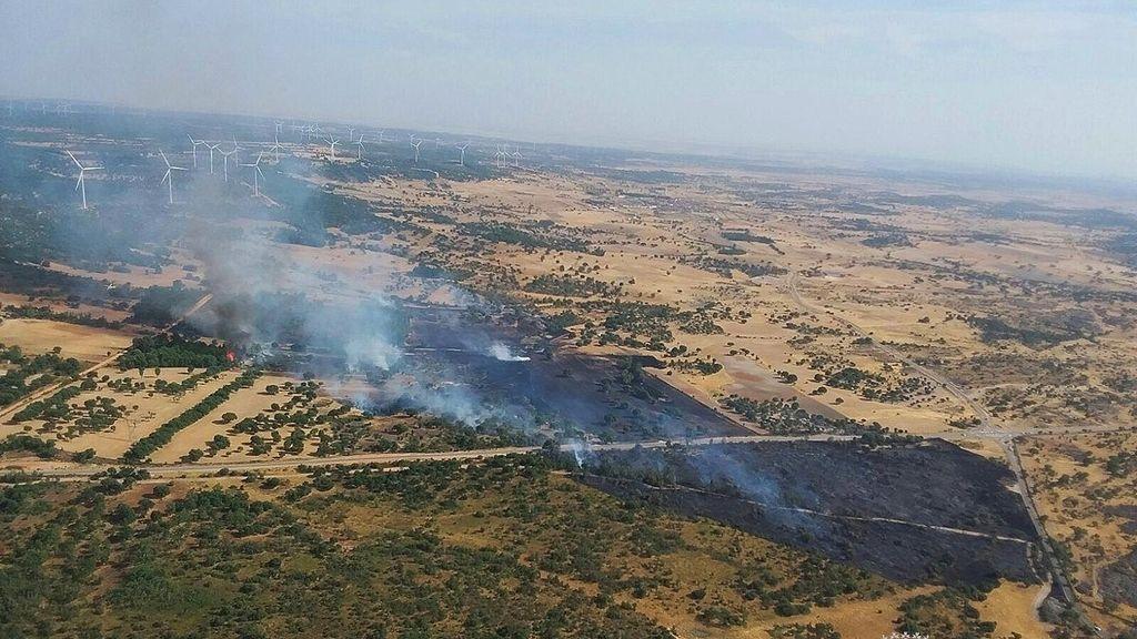 Incendio Zamora
