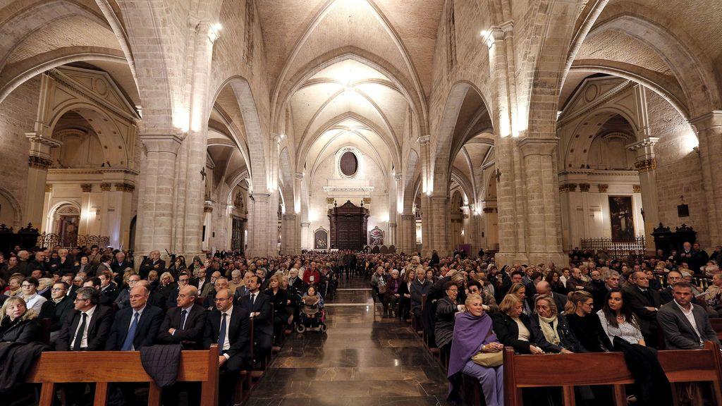 Misa por Rita Barberá en Valencia