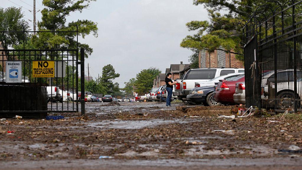 Elevan a ocho la cifra de fallecidos por las inundaciones en Houston