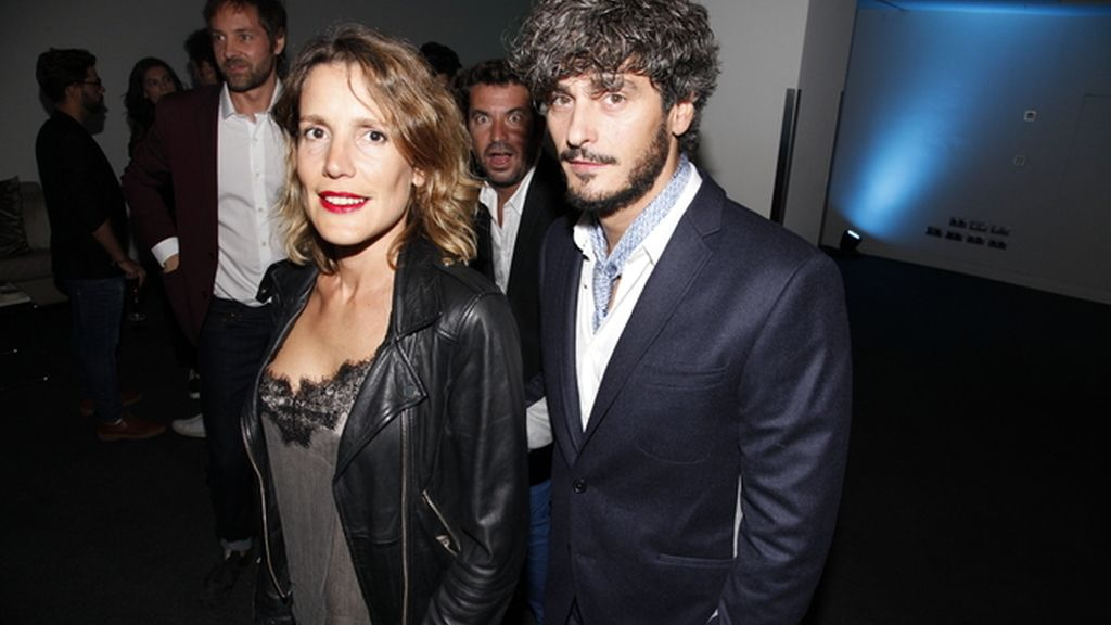Mónica Cordobés y Antonio Pagudo, que estrenaba nuevo look
