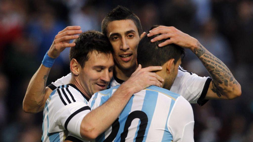 Messi Di María Agüero