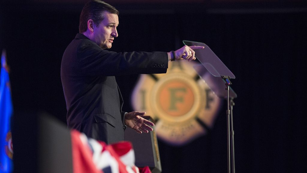Ted Cruz, senador republicano de EEUU