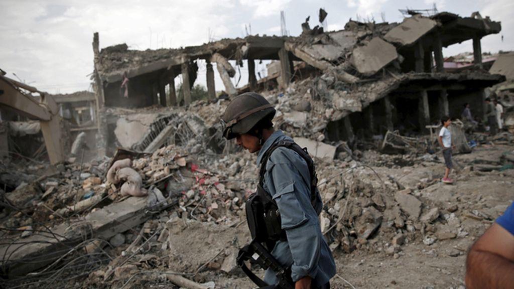 Al menos 42 muertos en los cuatro atentados perpetrados en Kabul
