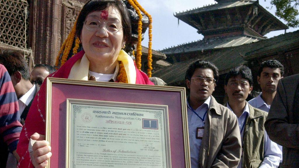 Fallece Junko Tabei, la primera mujer que escaló el Everest (23/10/2016)