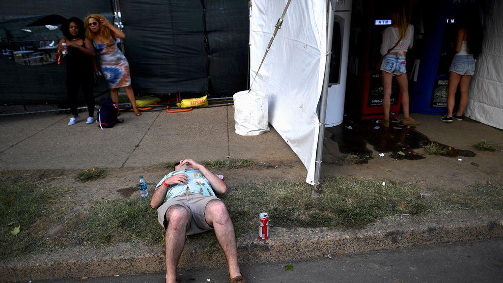 En un festival se duerme en cualquier sitio