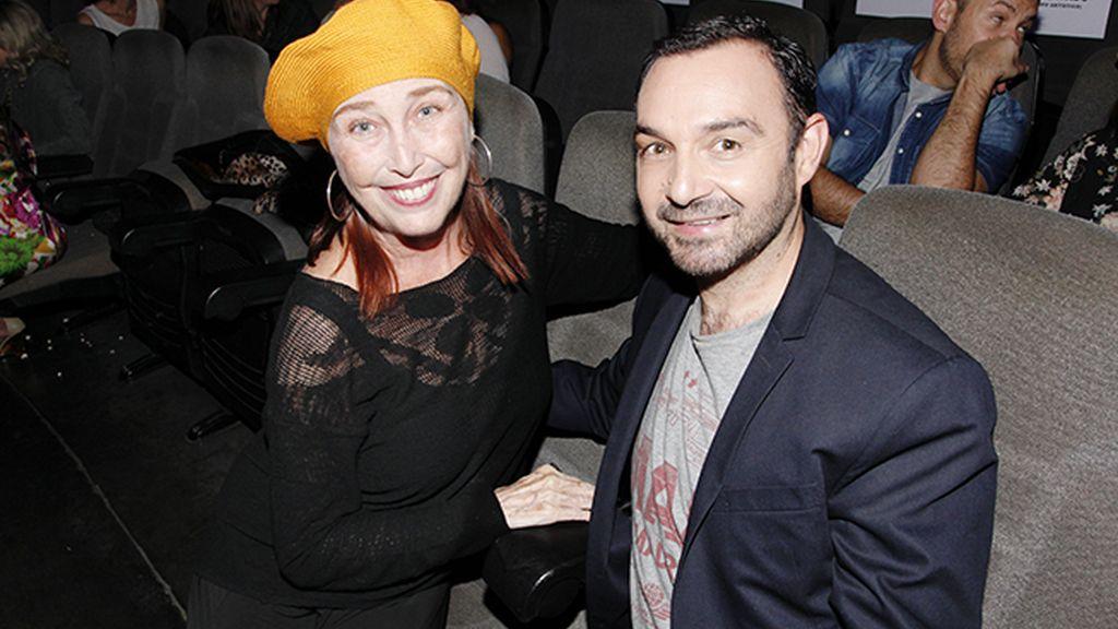 Verónica Forqué y Diego París