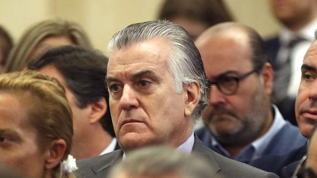 Luis Bárcenas en el juicio por el caso Gürtel