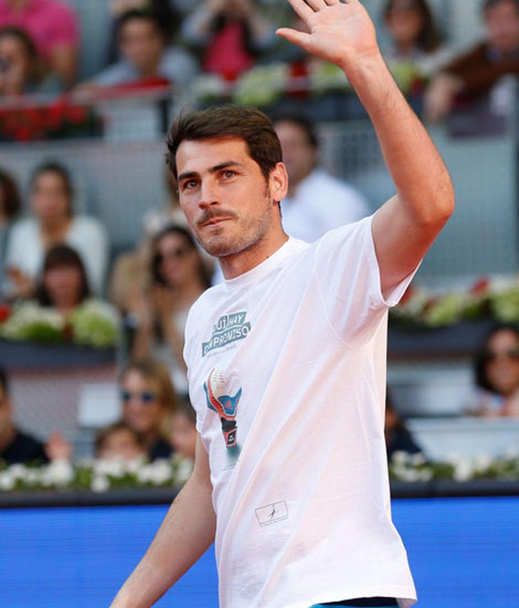 Iker Casillas, solidario junto a Rafa Nadal