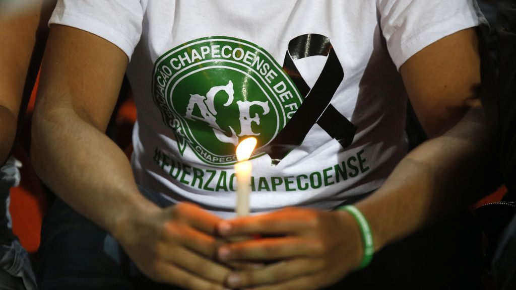 Accidente Chapecoense,Colombia