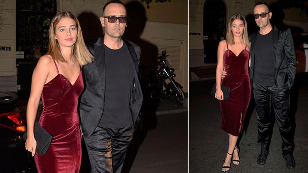 Laura Escanes y Risto Mejide no pasaron por el 'photocall', directos a la cena