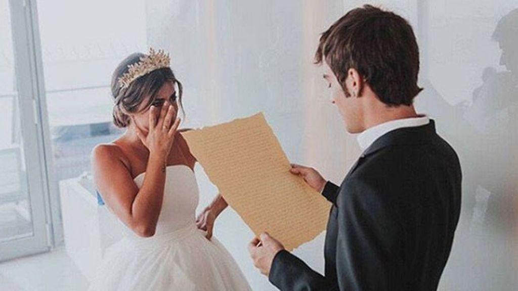 Las emotivas palabras previas a la boda de Álex a su hermana Aida