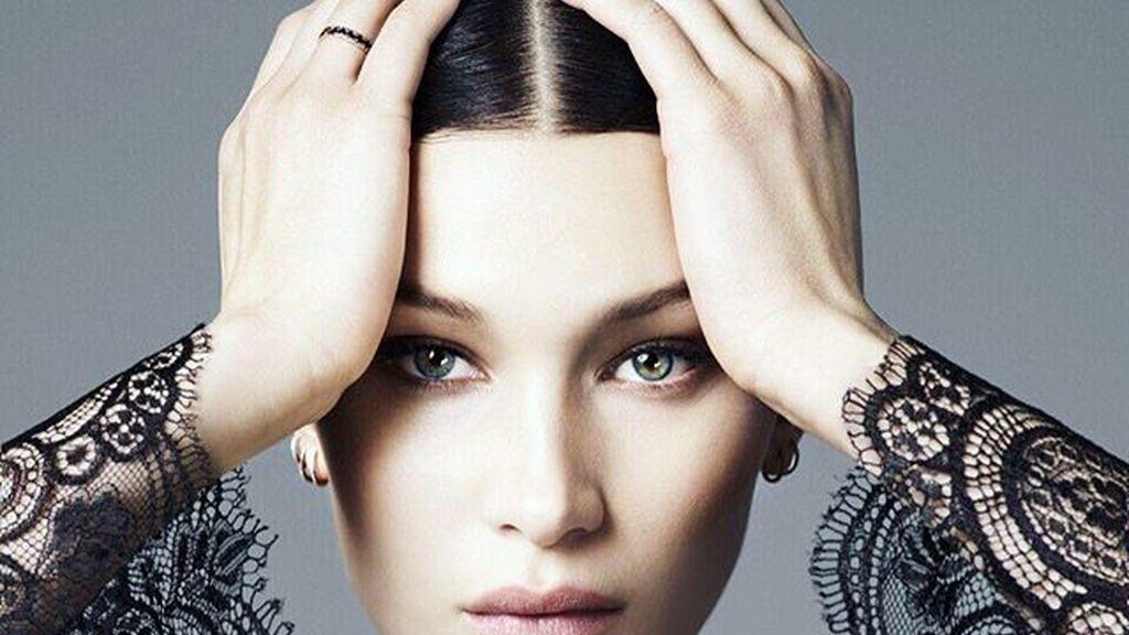 Bella Hadid sube al cielo de Victoria's Secret