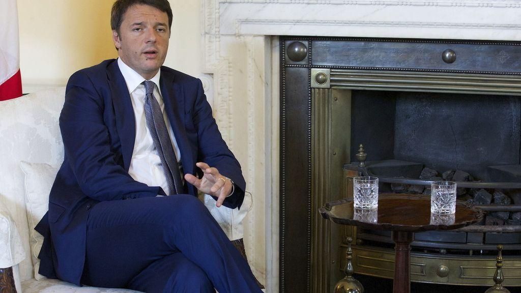 Matteo Renzi en Londres