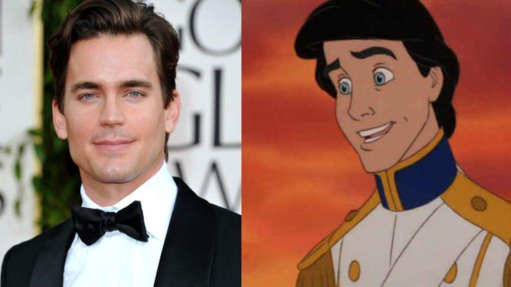 El Príncipe Eric de 'La Sirenita' siempre ha sido uno de los galanes de Disney más atractivos, como lo es Matt Bomer en el cine actual