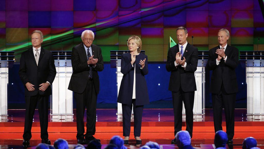 Primer debate de los candidatos demócratas a la presidencia de EEUU