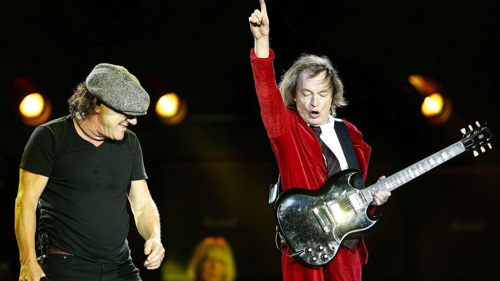 Los incombustibles AC/DC encienden Barcelona con su 'Rock or Bust World Tour'