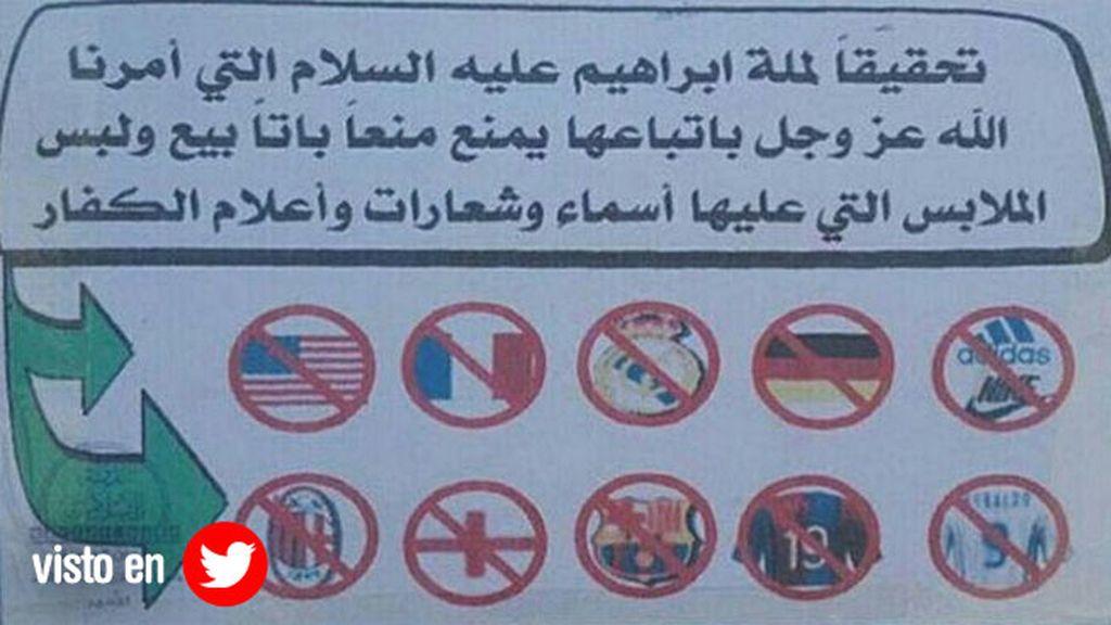 Camisetas Estado Islámico