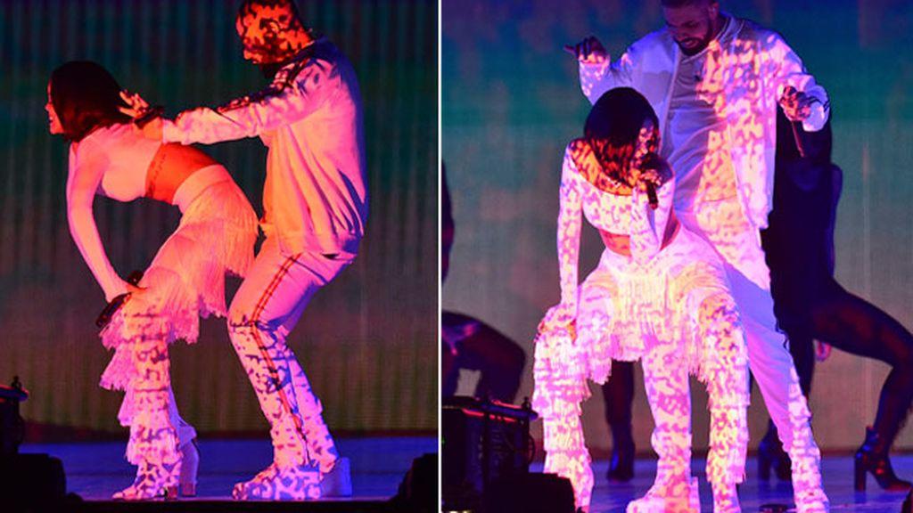 Rihanna en los Brits Awards
