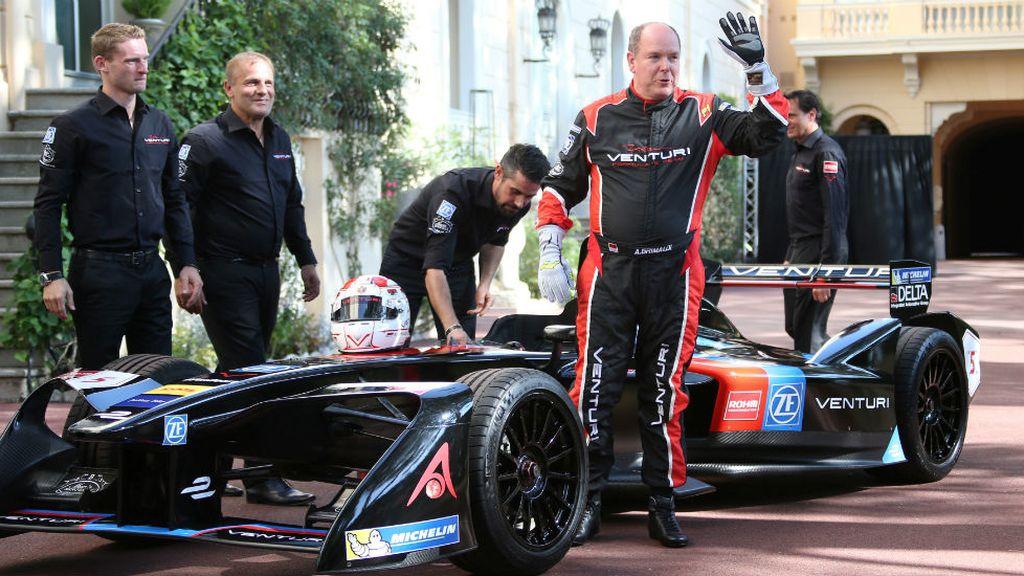 Alberto de Mónaco se atreve con la Fórmula (26/09/2016)
