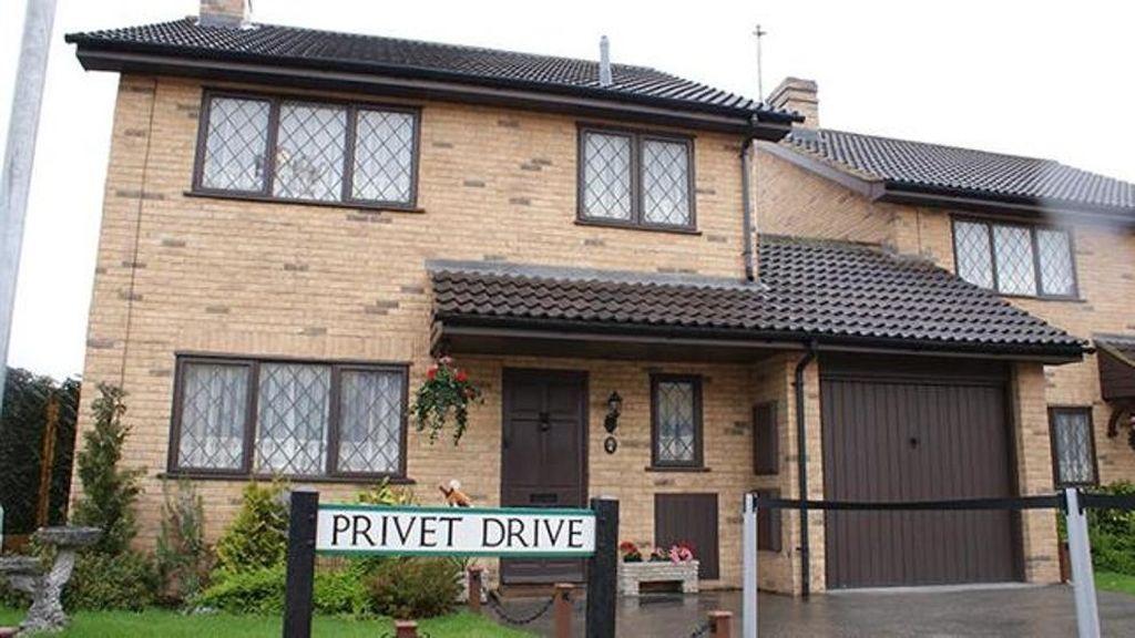 A la venta la casa de Harry Potter por medio millón de euros