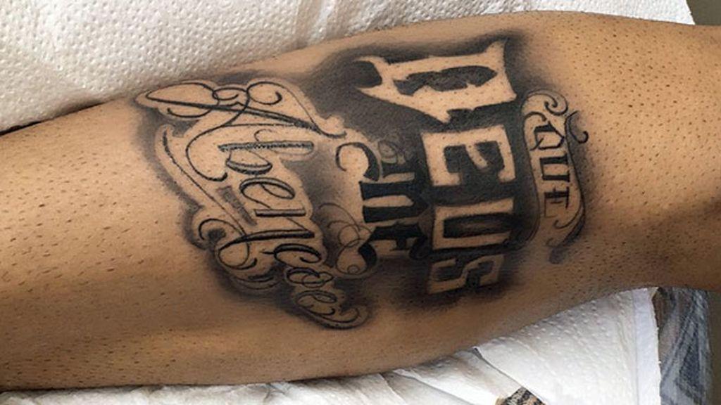 Neymar,Tatuaje,Brasil