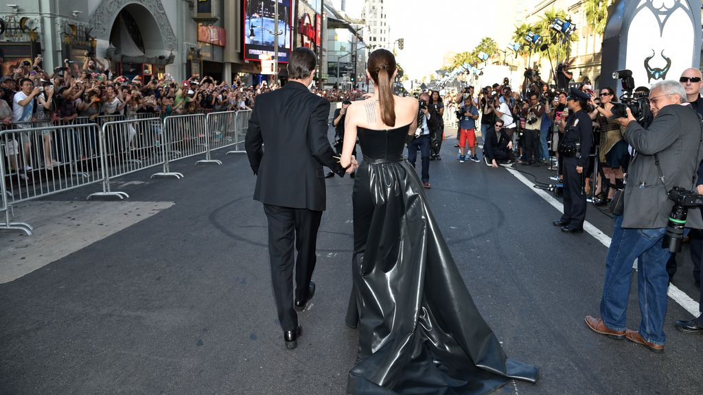 Angelina Jolie y Brad Pitt ajenos al incidente