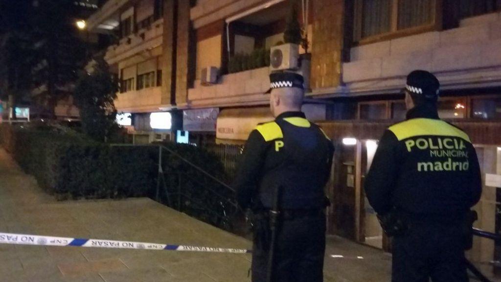 Un colombiano muerto y otro herido tras un tiroteo en un peluquería de Madrid