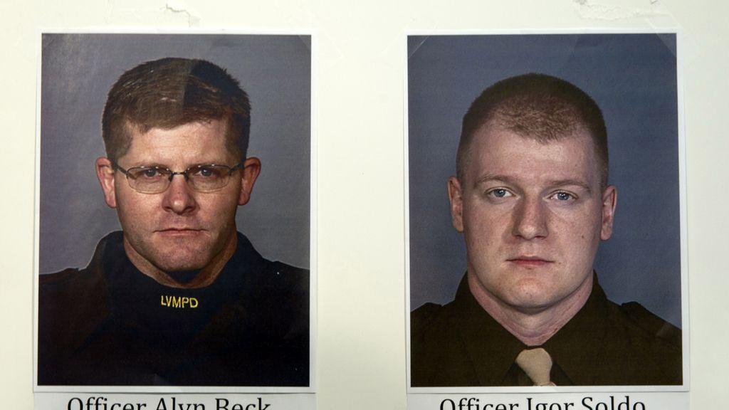 Cinco muertos, entre ellos dos policías, en un tiroteo en Las Vegas