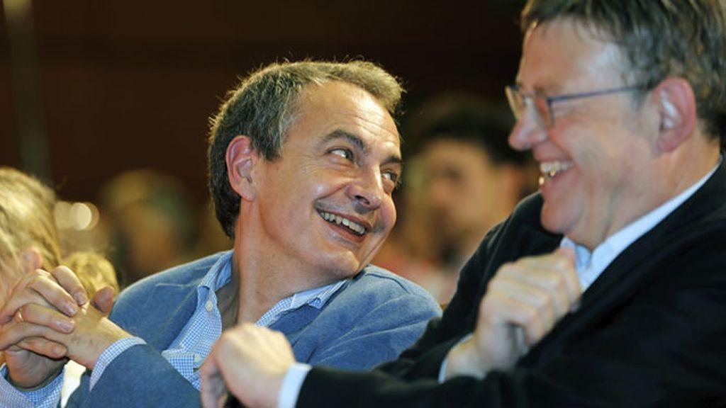 Zapatero y Puig
