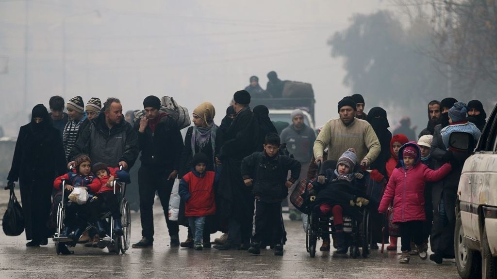 Evacuación de Civiles en Siria