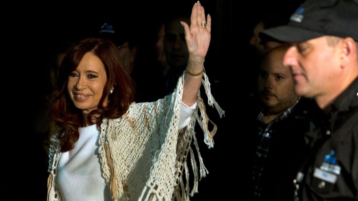 Cristina Fernández de Kitchner tras el juicio