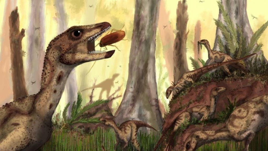 Hallan una nueva especie de dinosaurio que vivió en Venezuela