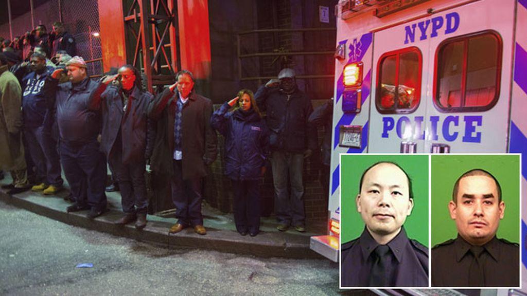 """Obama condena la muerte de los dos policías y subraya su """"gratitud"""" hacia las fuerzas de seguridad"""