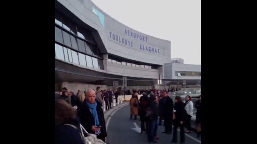 Desalojado el aeropuerto de Toulouse