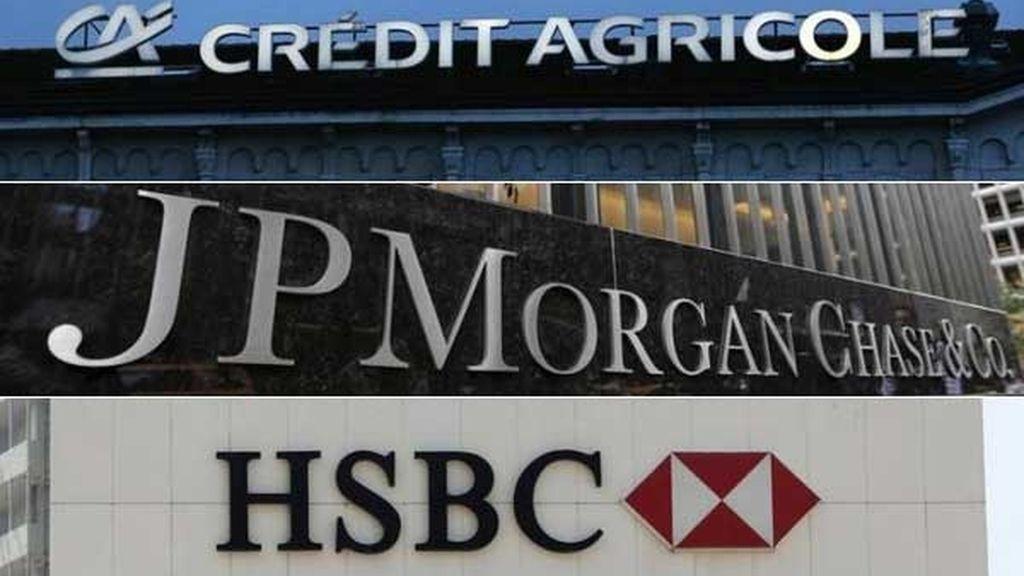Crédit Agricole,JPMorgan y HSBC, acusados de manipular el Euríbor