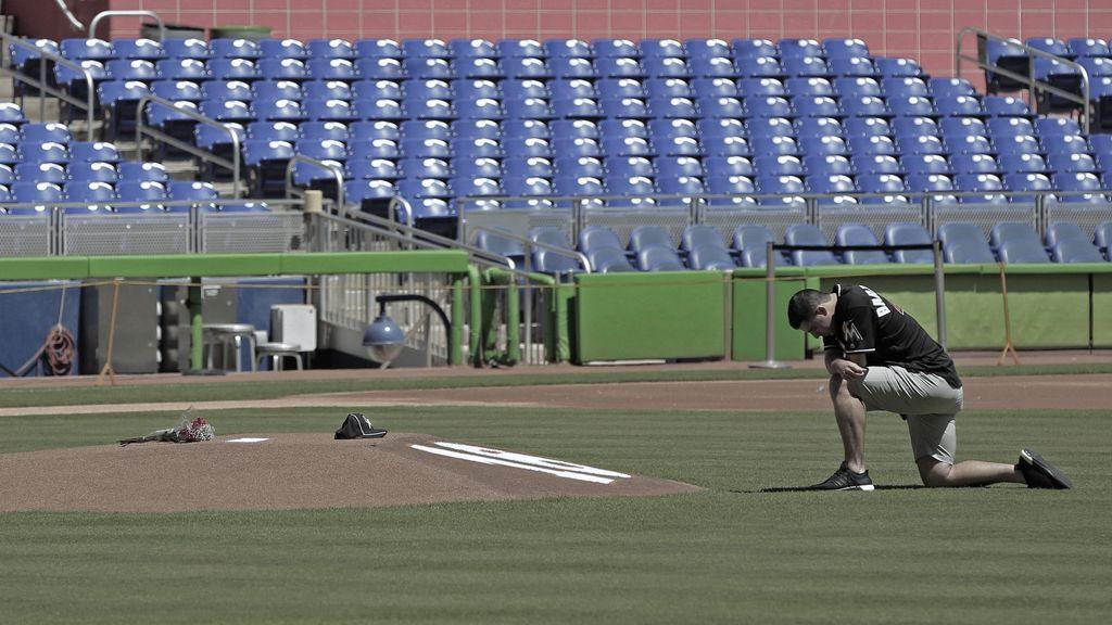 El baseball de luto tras la muerte de un lanzador de los Marlins de la Florida (25/09/2016)