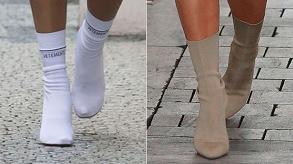 bota calcetin
