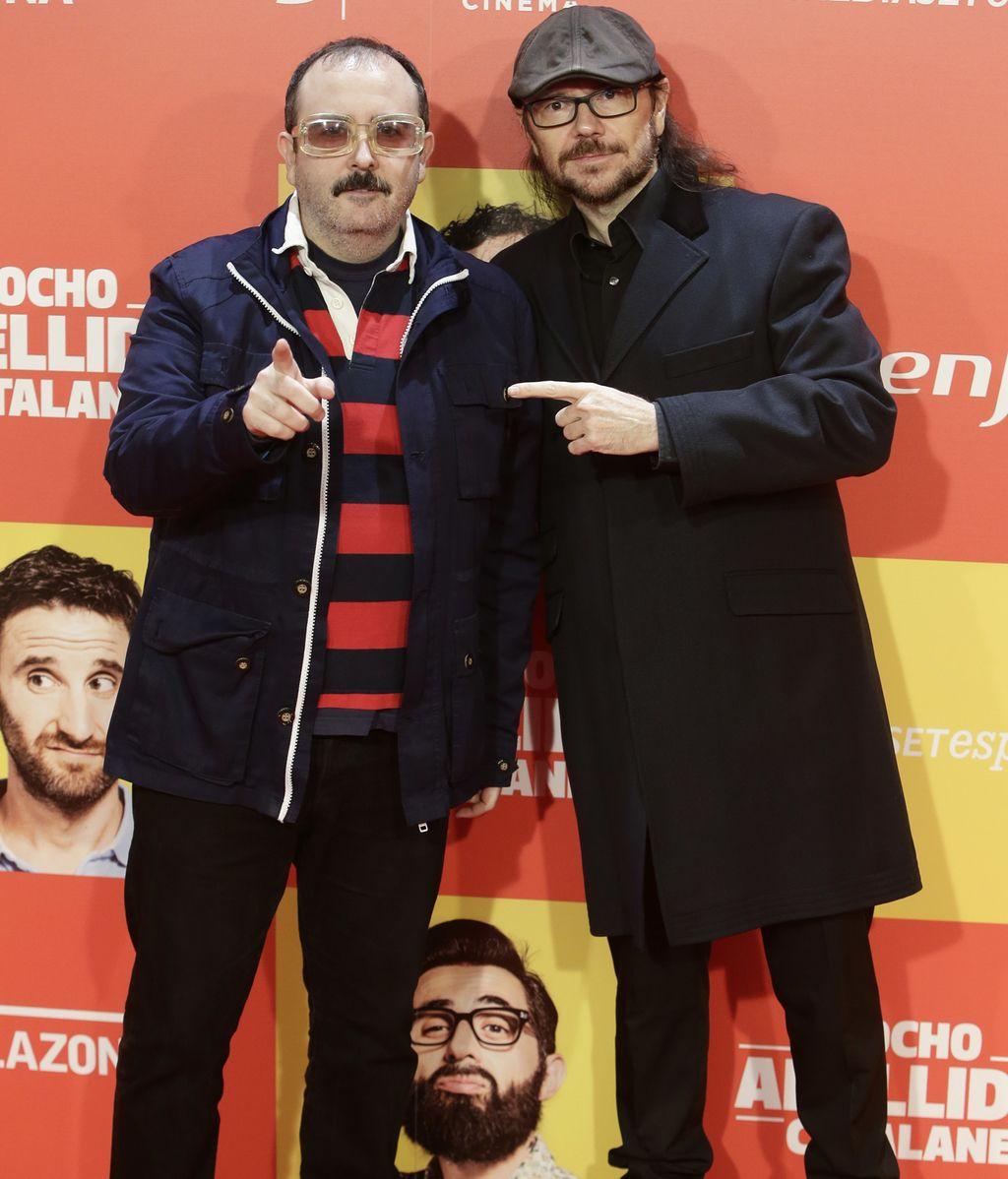 Santiago Segura y Carlos Areces