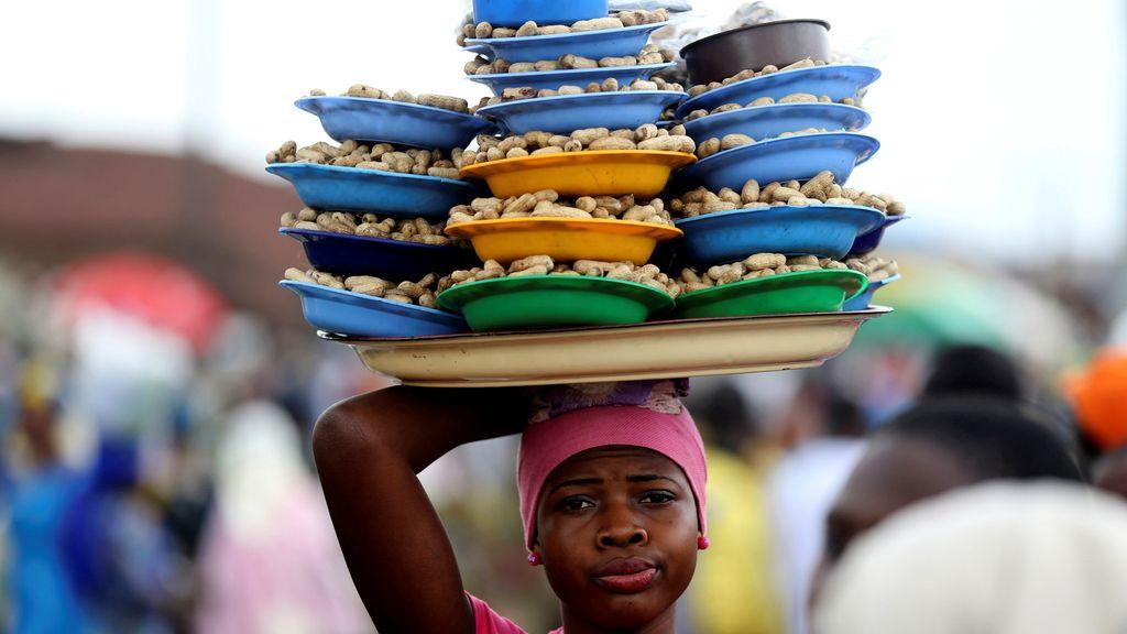 La dura supervivencia en Nigeria