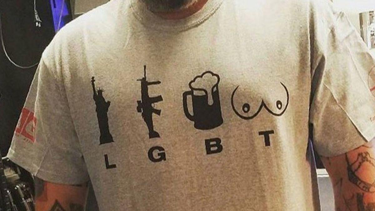 Una parodia de las siglas LGTB, ¿la peor camiseta del mundo?