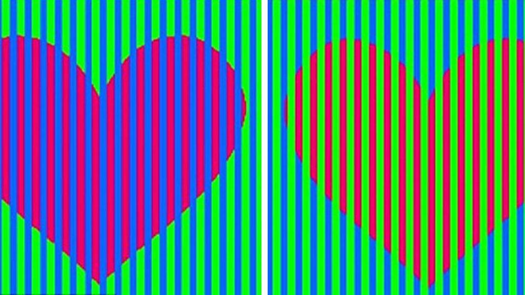 El reto del color de los corazones