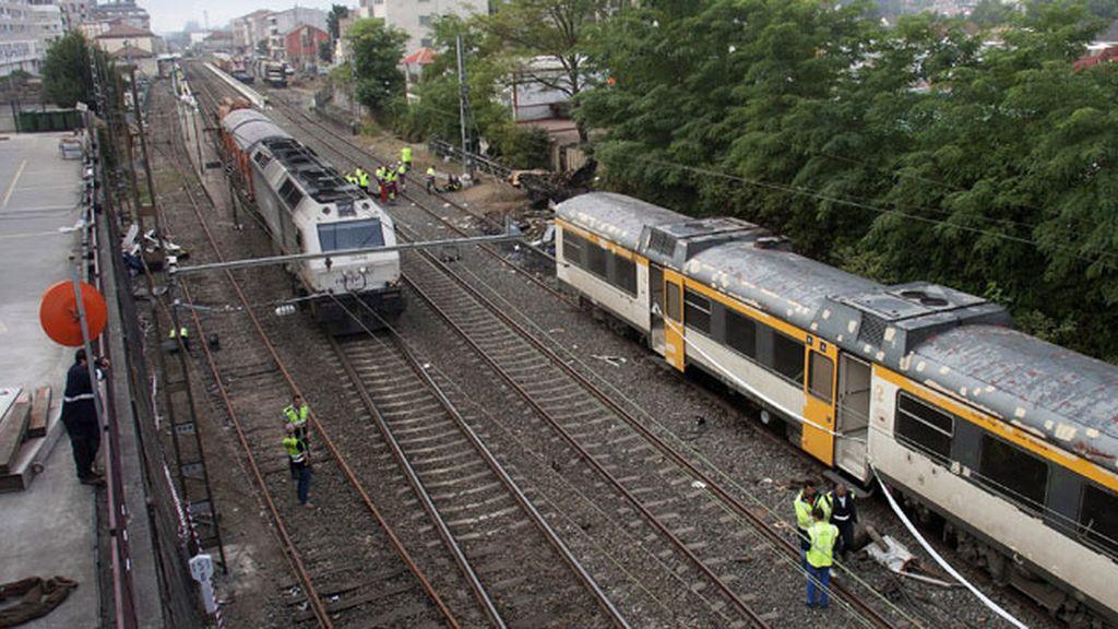 La alcaldesa de O Porriño desmiente que el tren debiera ir a 30 km/h en el municipio