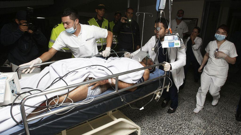 El futbolista Alan Ruschel, primer superviviente del siniestro de Chapecoense