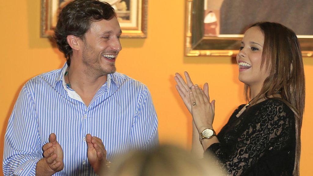 La hija de Rocío Jurado y el cantante Juan Peña se arrancaron por sevillanas