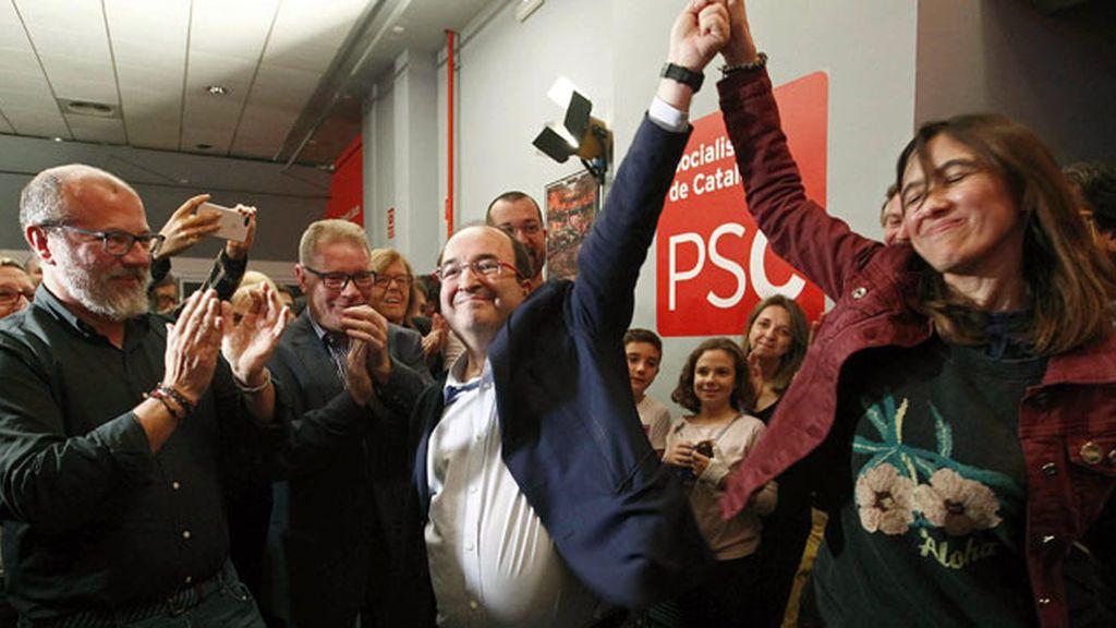 """Miquel Iceta promete una dirección """"coral"""" y un PSC unido para volver a liderar la izquierda"""