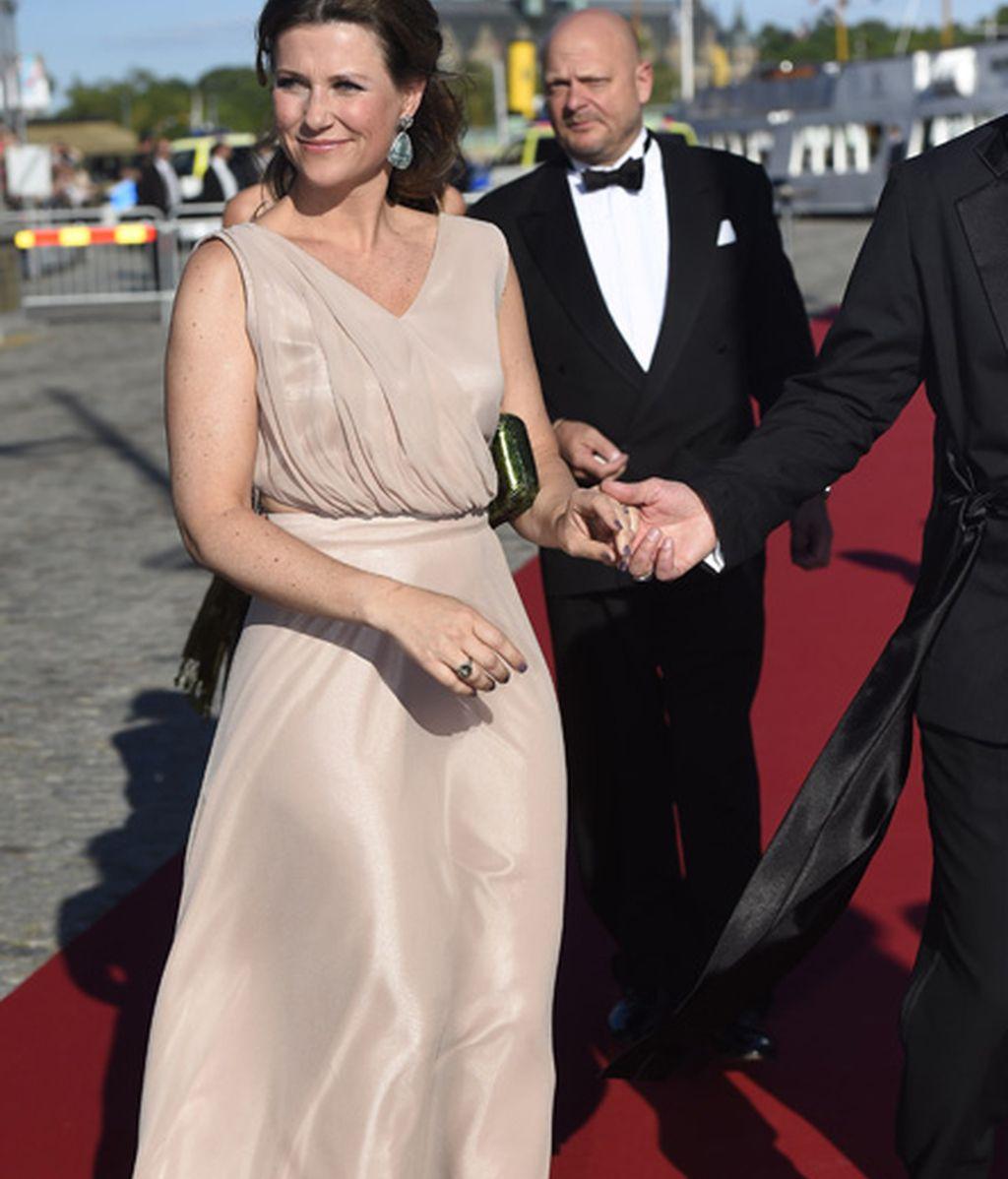 Marta Luisa de Noruega no se perdió el sarao